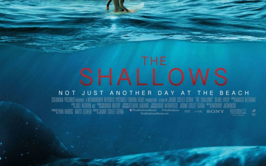 "The depiction of the Great White Shark in the movie ""The Shallows"""